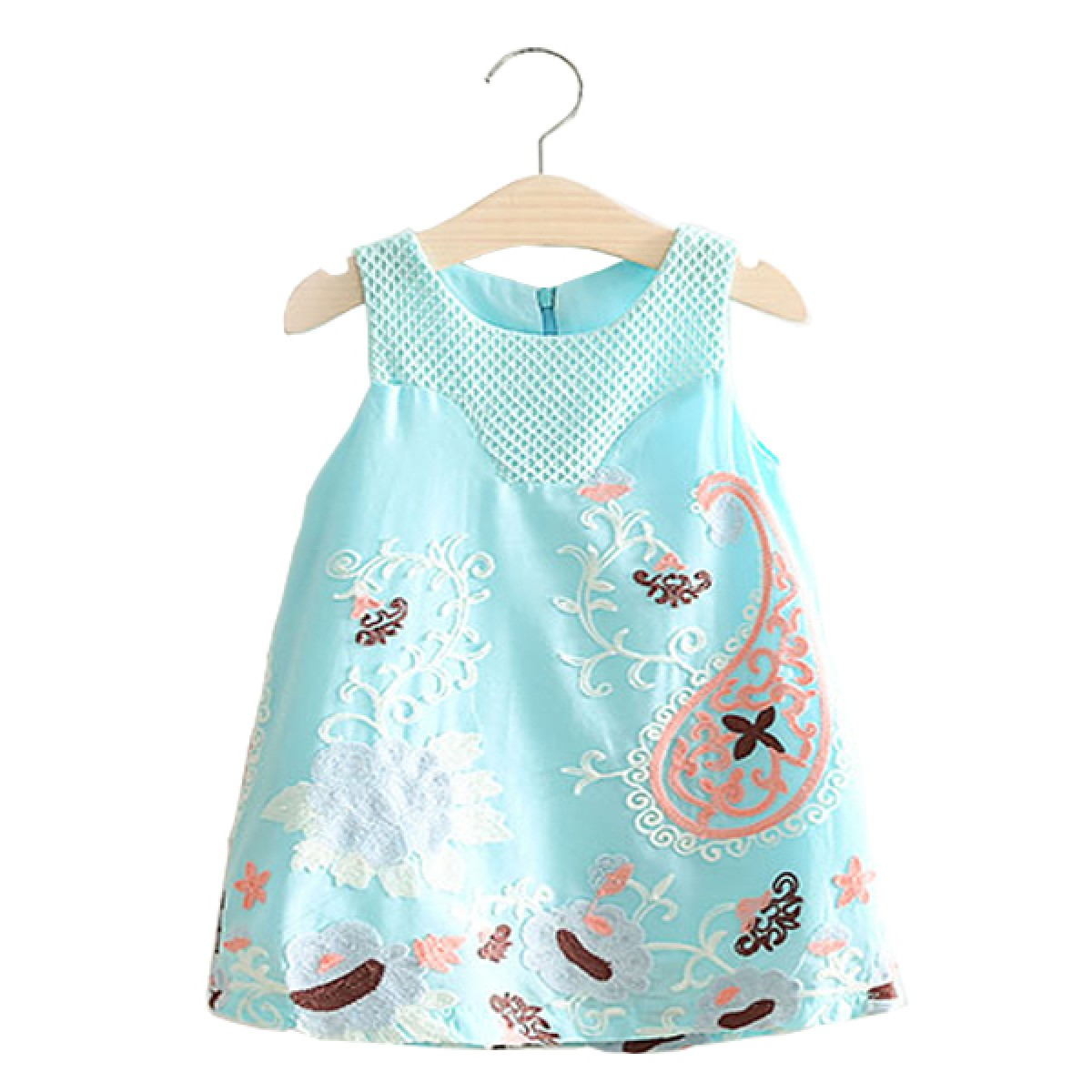 16b9d76f8eb6 ... blue embroidered summer dress. Brand  e2woo. Product Code   0275ALFAPF000275 Availability  In Stock