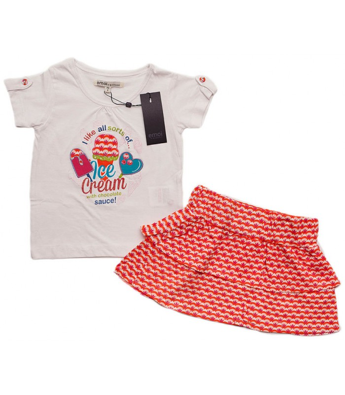 Set T-Shirt and Skirt ,