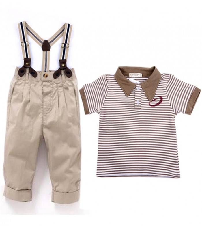 T-Shirt and Strap pants set